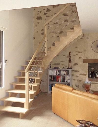 Escaliers bois
