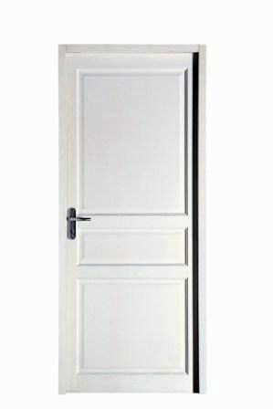 Porte intérieure blanche